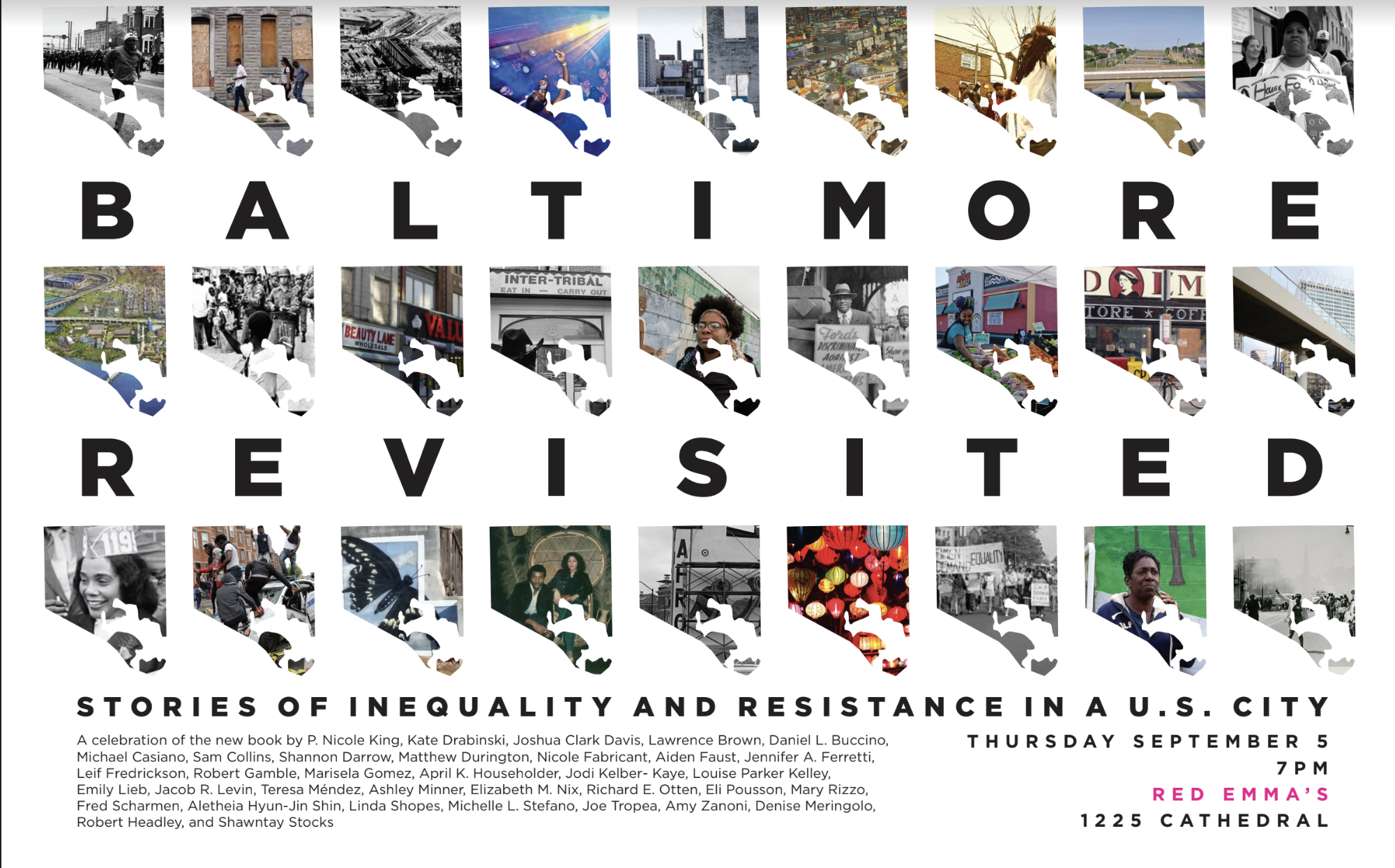 In Baltimore Revisited, UMBC and community authors reflect on the city's history of inequality and resistance